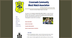 Preview of crossroadsblockwatch.org